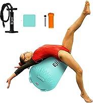 EJIA Air Roller, Back Handspring Aid Trainer Inflatable Gymnastics Equipment Tumbling Training Air Barrel Boun