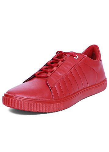 BEONZA Men Red Devils Sneakers Shoes