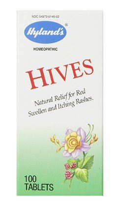 Hives Tablets 100 ea by Hyland's (Pack of 5)