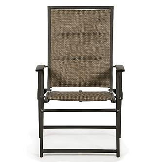 Garden Oasis Harrison Matching Folding Padded Sling Chair