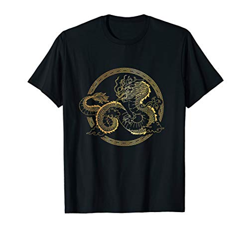 Chinese Tai Chi Dragon T-Shirt