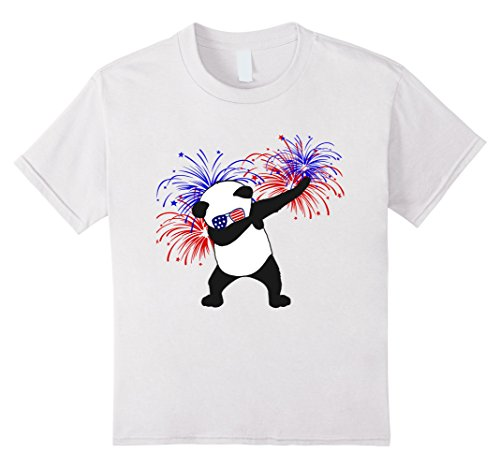 unisex-child Funny 4th of July Dancing Panda w/ Sunglasses 12 - Sunglasses Dancing Girl