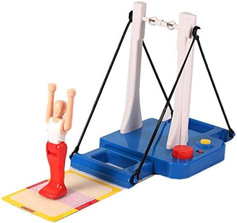 Máquina De Gimnasia De Barra Horizontal Little Prince Gymnastics Machine, Big Swing Flip Gymnastics Big Wheel Table Game