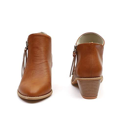 festival donna 2018 a low da inverno Toramo stivaletto nbsp;autunno e popolari donna caviglia 5 stivali Dimensioni 4 nbsp; da e heeled invernali wAnBqx8dF