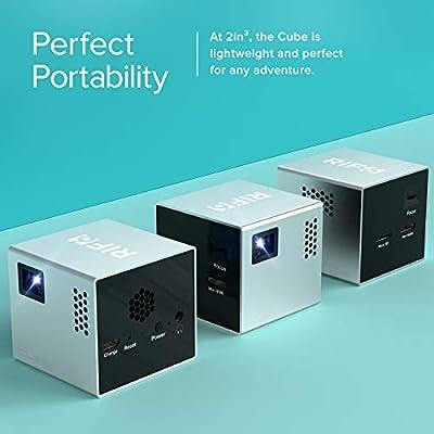 RIF6 Proyector para el móvil Cube de 5 cm con más de 20 000 de ...