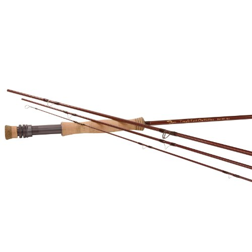 (TFO Mangrove Series Fly Rod - 4-Piece 4 Weight(Handle A), 9ft)