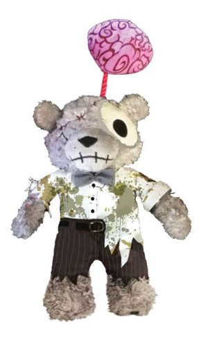 Applehead Factory - Teddy Scares Plush Figure Hester Golem - Brain 20 cm