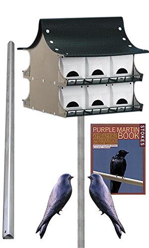 S&K 12 Room Purple Martin House Package