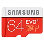 Samsung evo plus 64gb microsd xc class 10 uhs-1 mobile memory card for samsung galaxy s7 & s7 edge with usb 2. 0… 8 samsung evo plus 64gb microsd xc class 10 uhs-1 mobile memory card 1 year factory warranty speed: uhs-1 class 10 memory card with read speed up to 80mb/s