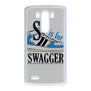 LG G3 Cell Phone Case White Swagger VIU030903