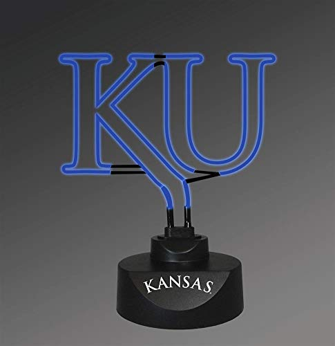 Memory Company Ncaa Lamp - Memory Company NCAA The University of Kansas Col-Kan-1808Neon Lamp, Multi, One Size