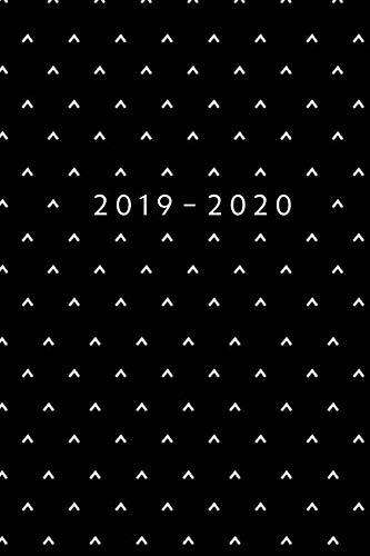 Planner Starting May 2019 - Dec 2020 | 6 x 9 Dated Agenda | Appointment Calendar | Organizer Book | Soft-Cover Minimalist Black ()