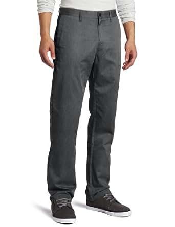 Volcom Men's Frickin Modern Chino Pant, Charcoal Heather3, 40