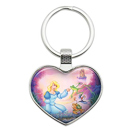 Odette Ring - The Swan Princess Odette Jean-Bob Frog Puffin Speed Turtle Heart Love Metal Keychain Key Chain Ring