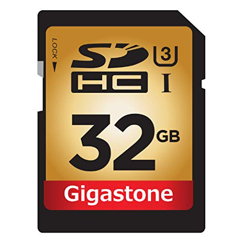 (Gigastone 32GB SD Card PRO SDHC C10 U3 UHS-I 95Mb/s High Speed Memory Card Canon Nikon Sony Pentax Olympus Panasonic Photo Video DSLR Camera Camcorder Surveillance)