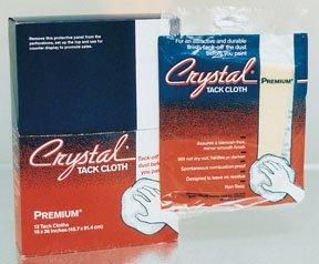 Premium Tack Cloths, Bond Crystal Brand 18'' x 36'' 12 Cloths Per Box by Bond Corporation (Image #1)