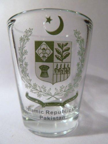 Pakistan Coat Of Arms Shot Glass