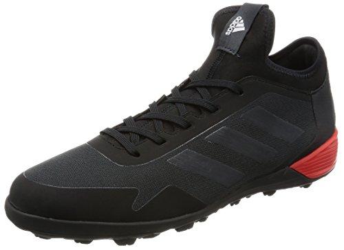 adidas Ace Tango 17.2 Tf, Scarpe da Calcio Uomo, Nero (Core Black / Dark Grey / Red), 44 2/3 EU