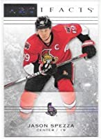 Jason Spezza 2014-15 Upper Deck Artifacts Ottawa Senators Card #3