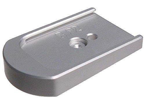 Silver Billet Floor Plate Base For Beretta INOX 92 96 92FS 96FS By NDZ - Aluminum Billet Bases