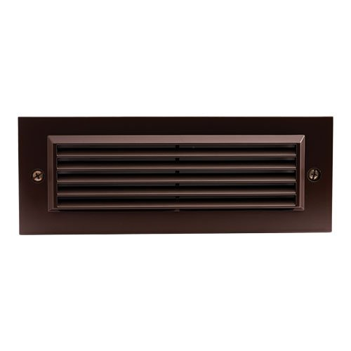 Elco Lighting ELST81BZ LED Brick Light with Angled Louver