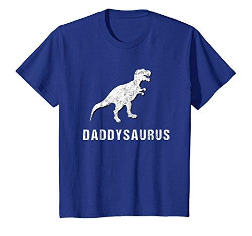 Daddysaurus Shirt Funny Dinosaur First Time Dad Gift Kids