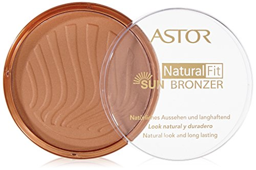 Astor Natural Fit Bronzer, Farbe 5 Sun Glow, 1er Pack (1 x 14 g)