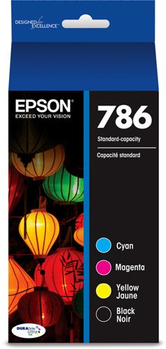 - Epson T786120-BCS DURABrite Ultra Black and Color Combo Pack Standard Capacity Cartridge Ink