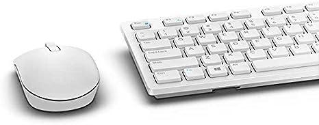 Teclado y ratón inalámbrico Dell - Blanco