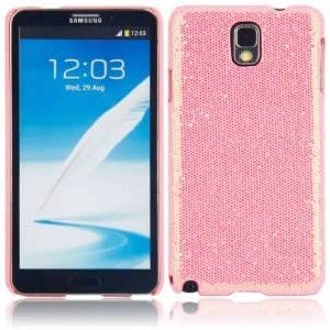 Shining Protective Hard Case for Samsung Note3 Pink