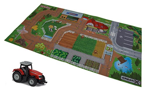 Playmat Playset With Tractor (Truck Taper Poly)