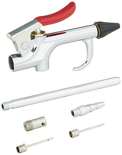 (EXELAIR 7 Piece Blow Gun Kit W/ Safety/Adapter Blow Gun)