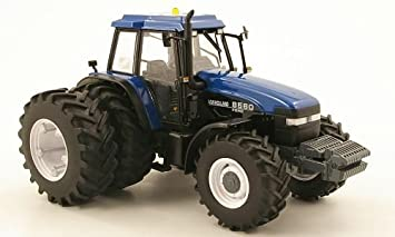 New Holland Ford >> New Holland Ford 8560 With Double Tires Behind Model Car