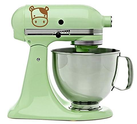 Cute Moo Cow Kitchenaid Mixer Mixing Machine Decal Art Wrap - Moo Mixer