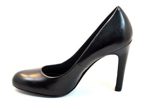 Dressy Classic Toe Round THE Heel Women's Pump 6855 High SELLER Black wxxFBgCnqt