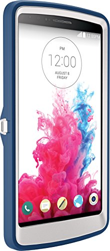 OtterBox DEFENDER SERIES for LG G3, BLUE CHILL ( BLUE/WHITE) - Carrying Case - Retail Packaging - BLUE CHILL (BLUE/WHITE)