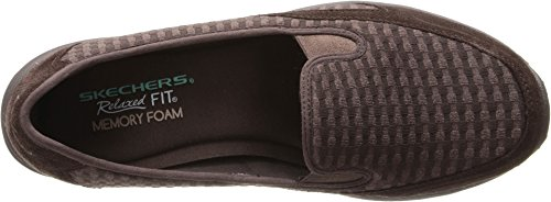 Skechers Mujeres Relaxed Living-comforter Mule Chocolate