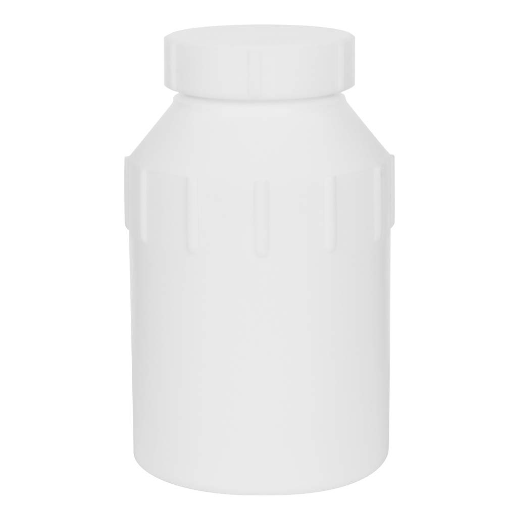 1000mL Air Tight Heavy Walled PTFE Plastic Bottle with Screw Closure Lid (1 Bottle) by Product Conect