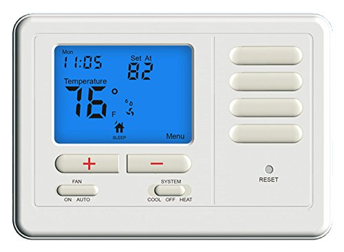 TDCQ 5-1-1 Day Multi Stage Programmable Thermostat,2 Heat/2 Cool