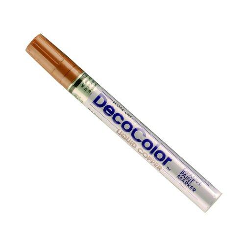 (Uchida 300-C-CPR Marvy Deco Color Broad Point Paint Marker, Copper)