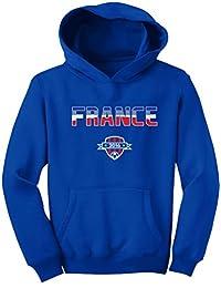 TeeStars - France Soccer / Football Team 2016 Fans Youth Hoodie