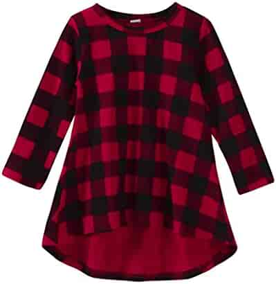 129adacbc1da Gotd Toddler Infant Kids Baby Girl Long Sleeve Dress Outfits Clothes Autumn  Winter (12-