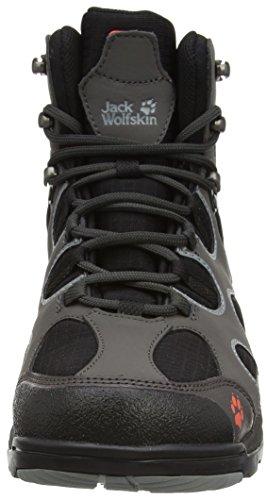 Jack Wolfskin CROSSWIND TEXAPORE O2+ M Herren Trekking- & Wanderstiefel Grau (dark steel 6032)