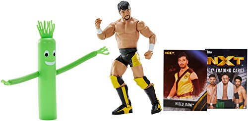 WWE NXT Takeover Hideo Itami Action Figure w/Topps Collectors Card