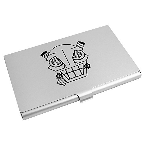 Wallet Card 'Angry Skull' Card Robot CH00001693 Holder Credit Business wCSC0tq