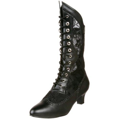 b black Pleaser Noir pu Dame115 Bottes Femme x0Y5qBaw5