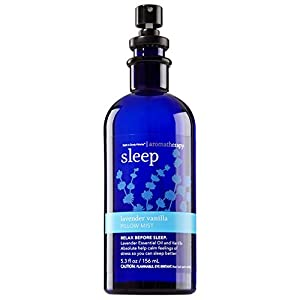 Bath & Body Works Aromatherapy Pillow Mist Sleep Lavender Vanilla, 5.3 Fl Oz