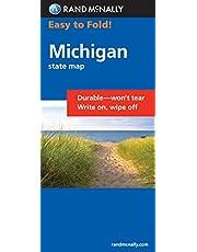 Rand McNally Easy to Fold: Michigan (Laminated Fold Map)