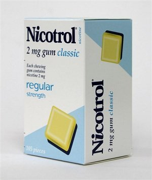 Nicotrol Nicotine Gum 2mg Classic/Original 6 Boxes 630 Pieces by Nicotrol by Nicotrol by Johnson & Johnson Pacific