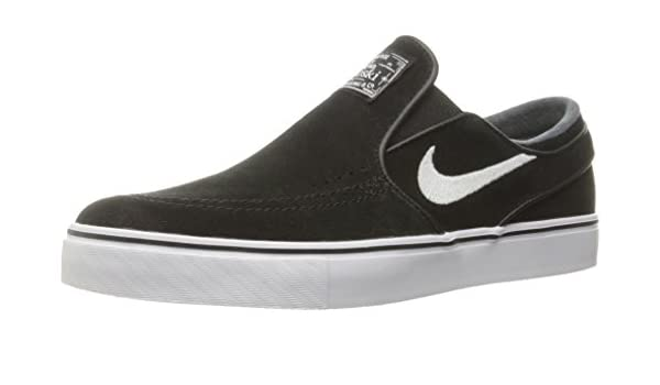 huge discount 1cb38 cd159 Nike SB Zoom Stefan Janoski Unisex Slip On Black White - 6 UK - 39 EU